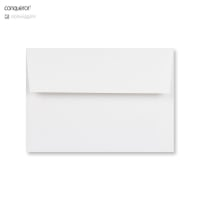 C6 BRILLIANT WHITE CONQEROR WOVE ENVELOPES