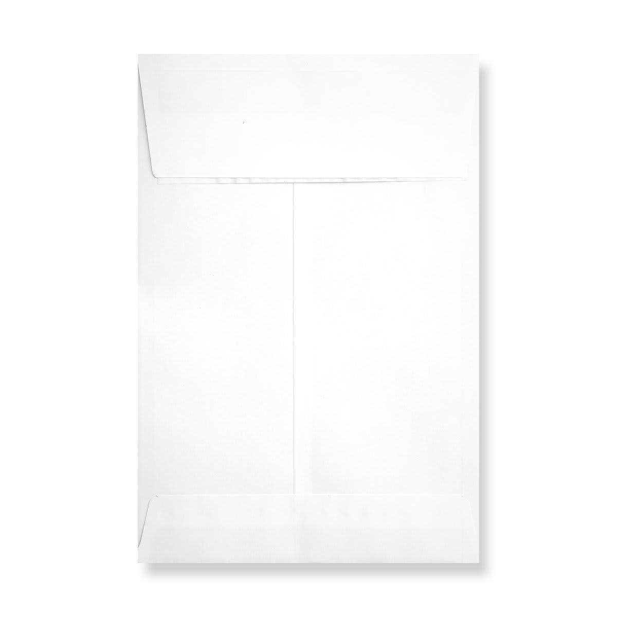 C4 WHITE GUSSET ENVELOPES