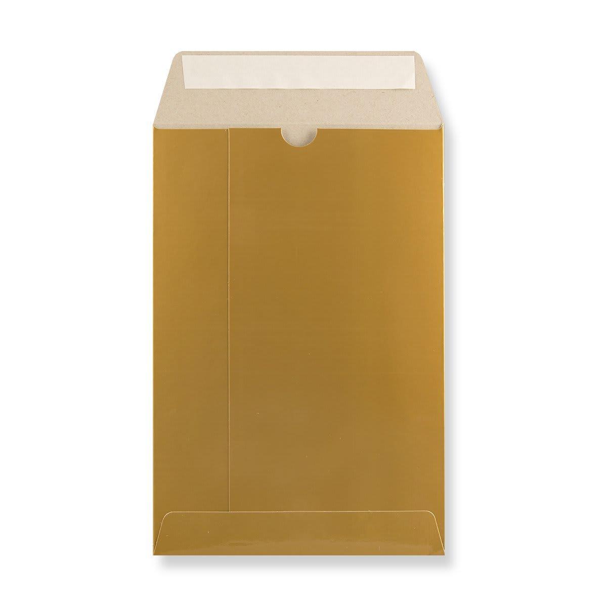 C5 GOLD ALL BOARD ENVELOPES