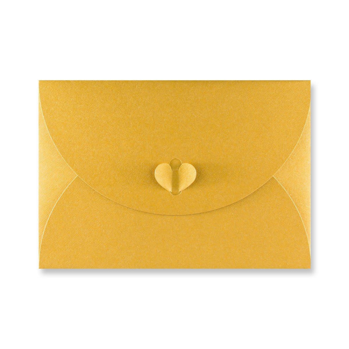 C5 GOLD BUTTERFLY ENVELOPES