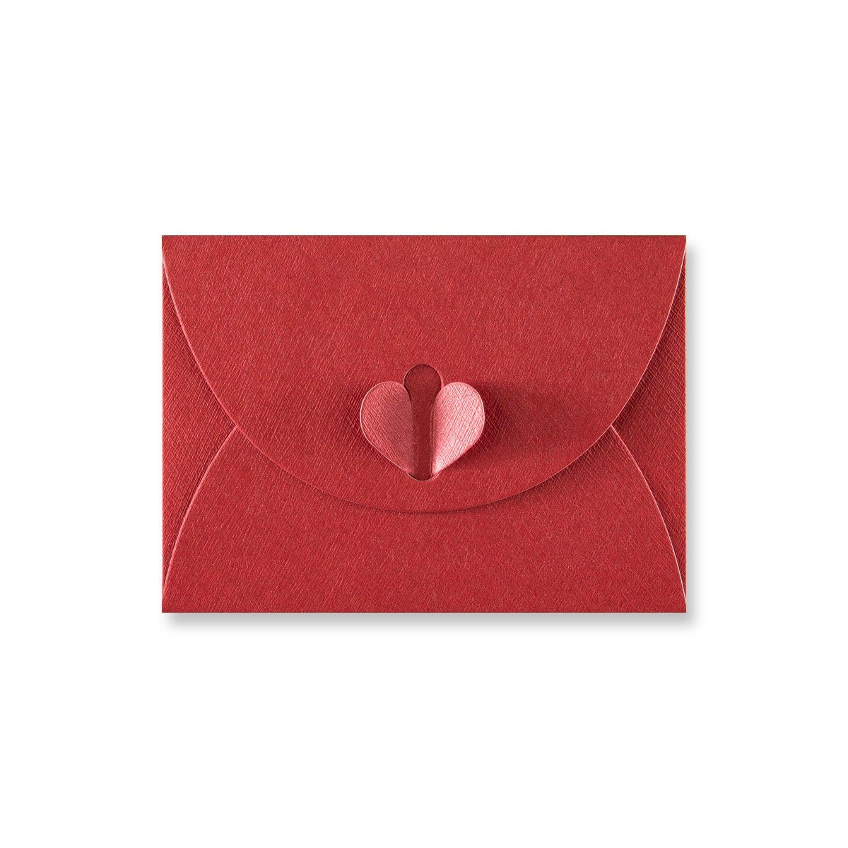 C7 CARDINAL RED BUTTERFLY ENVELOPES