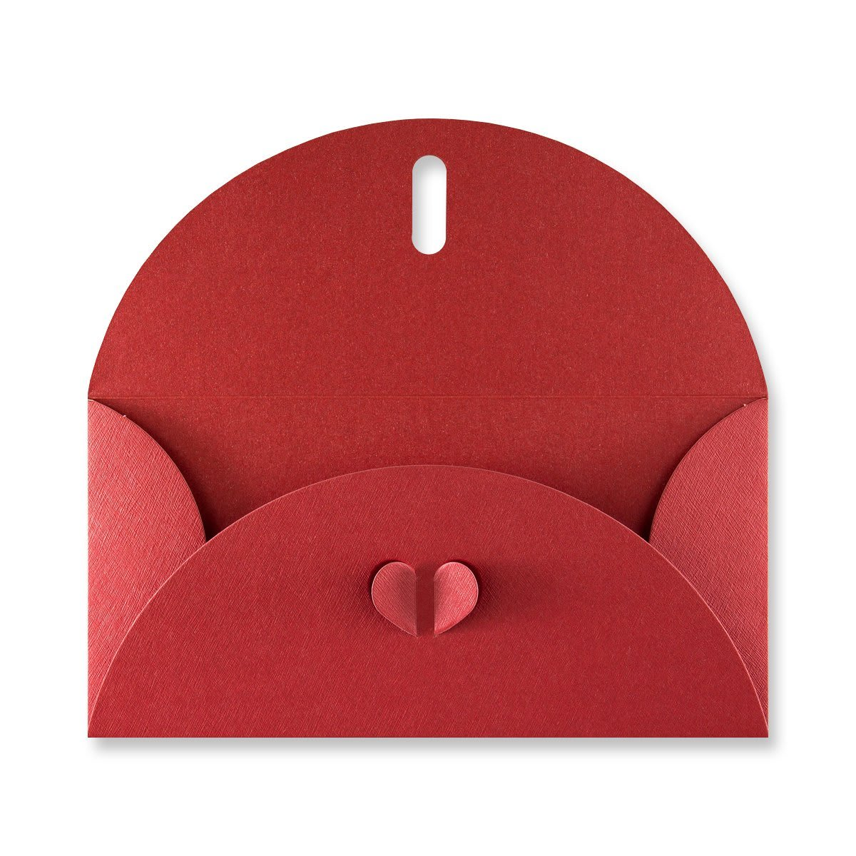 DL CARDINAL RED BUTTERFLY ENVELOPES