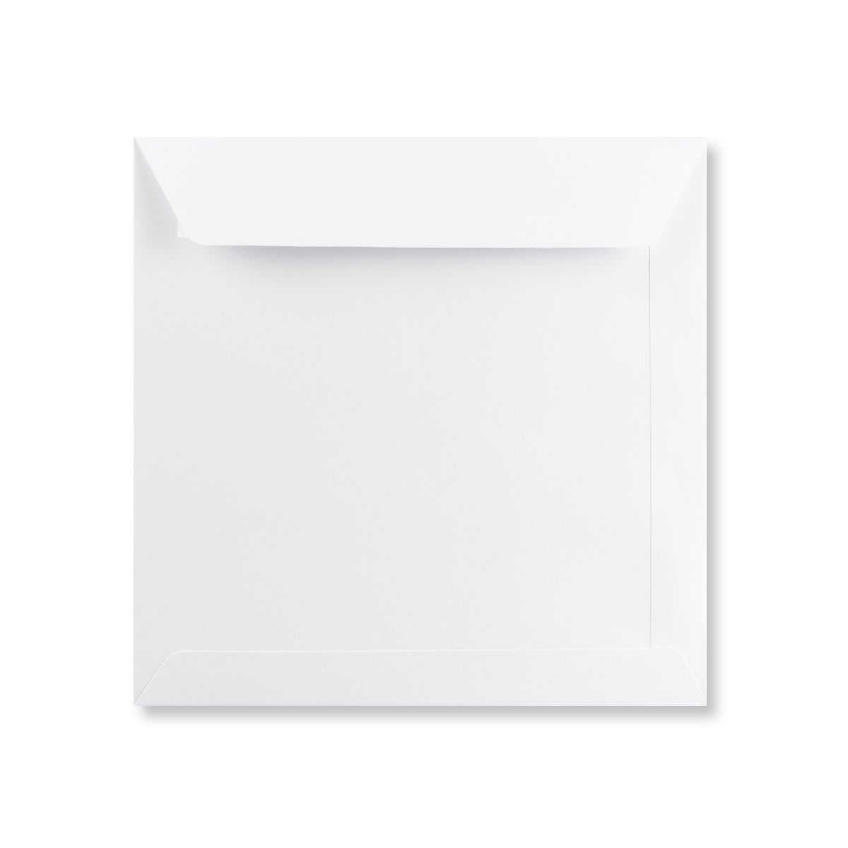 200MM SQUARE WHITE 120GSM PEEL AND SEAL ENVELOPES