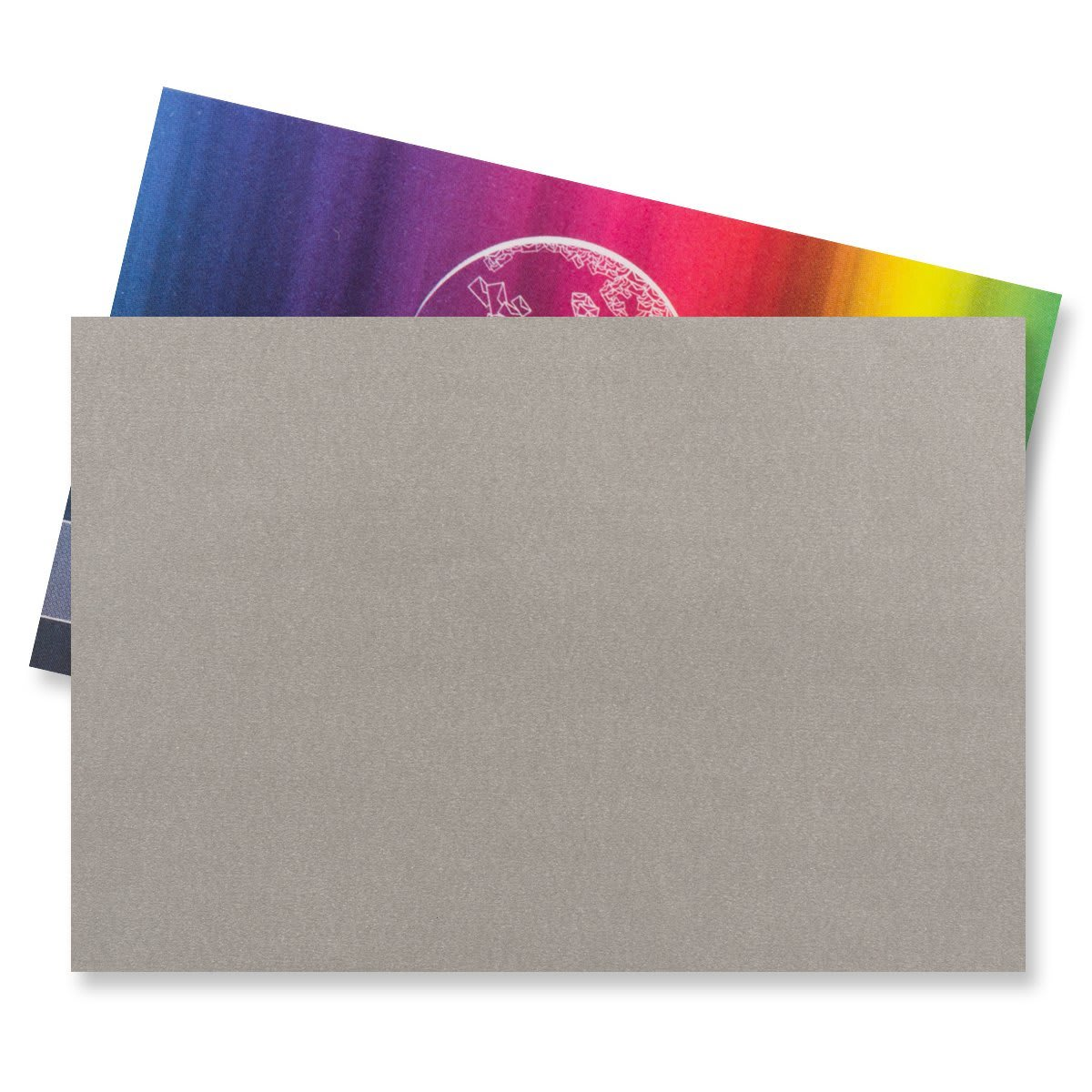 62 x 94MM SILVER V-FLAP PEEL AND SEAL ENVELOPES