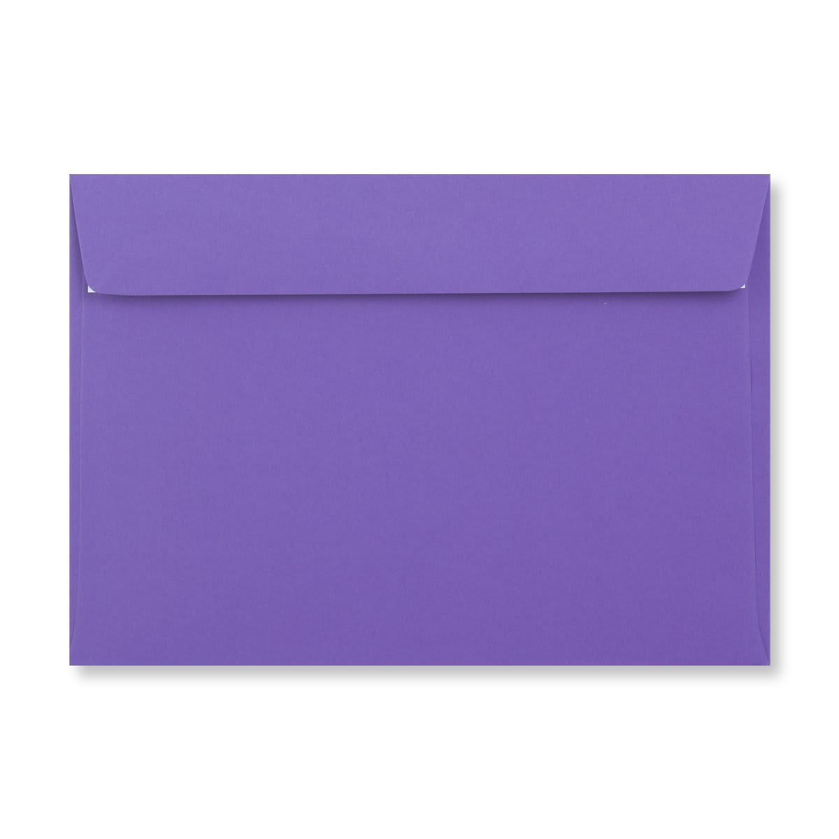 C5 PURPLE PEEL AND SEAL ENVELOPES