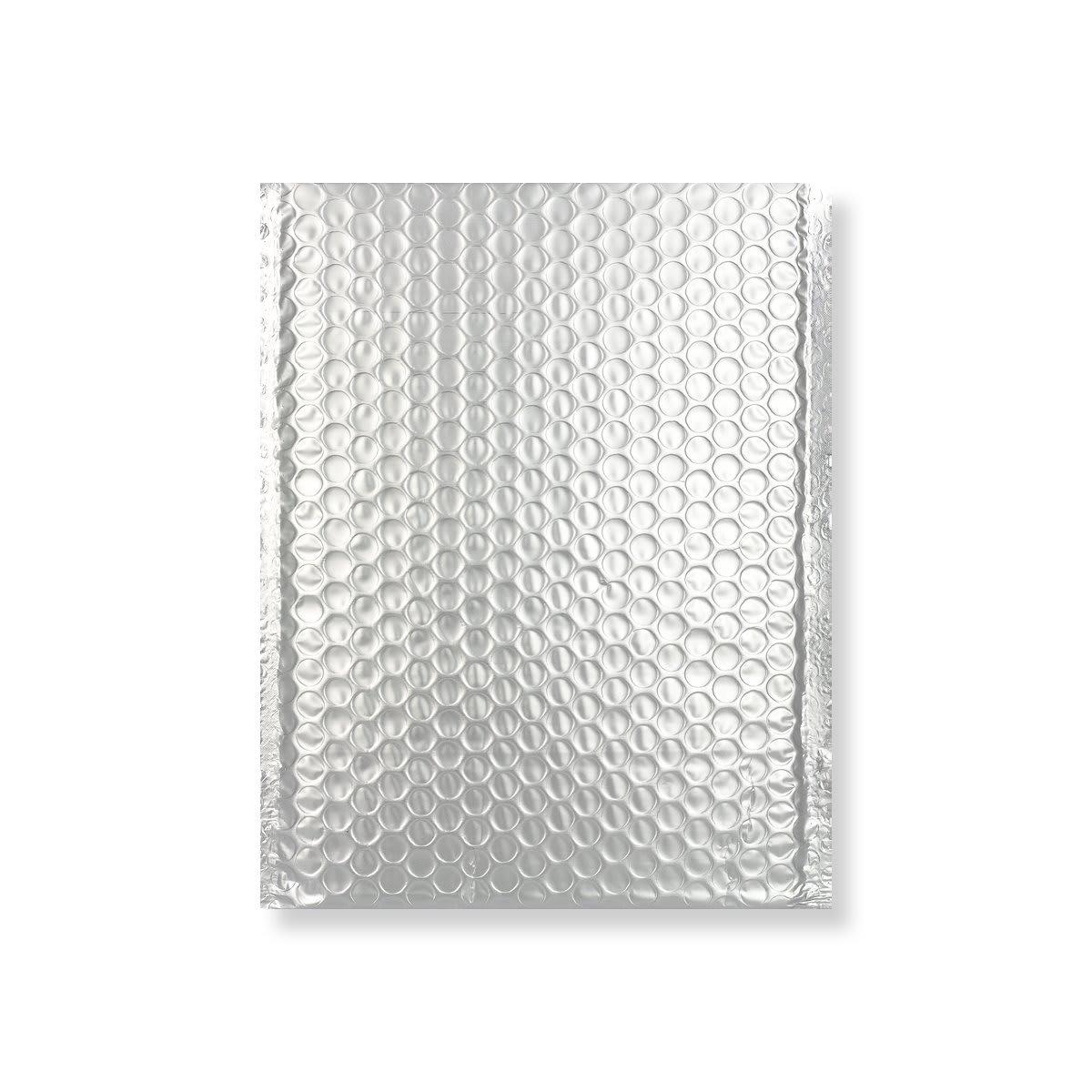 C5 + MATT METALLIC SILVER PADDED ENVELOPES (250 x 180MM)