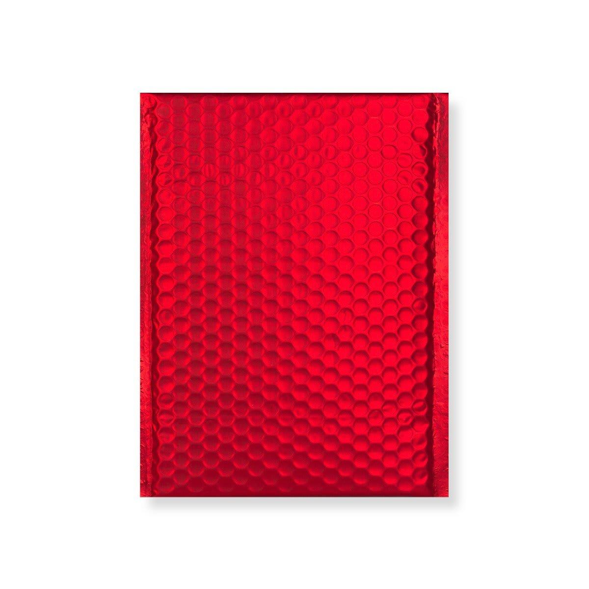C4 MATT METALLIC RED PADDED ENVELOPES (324 x 230MM)