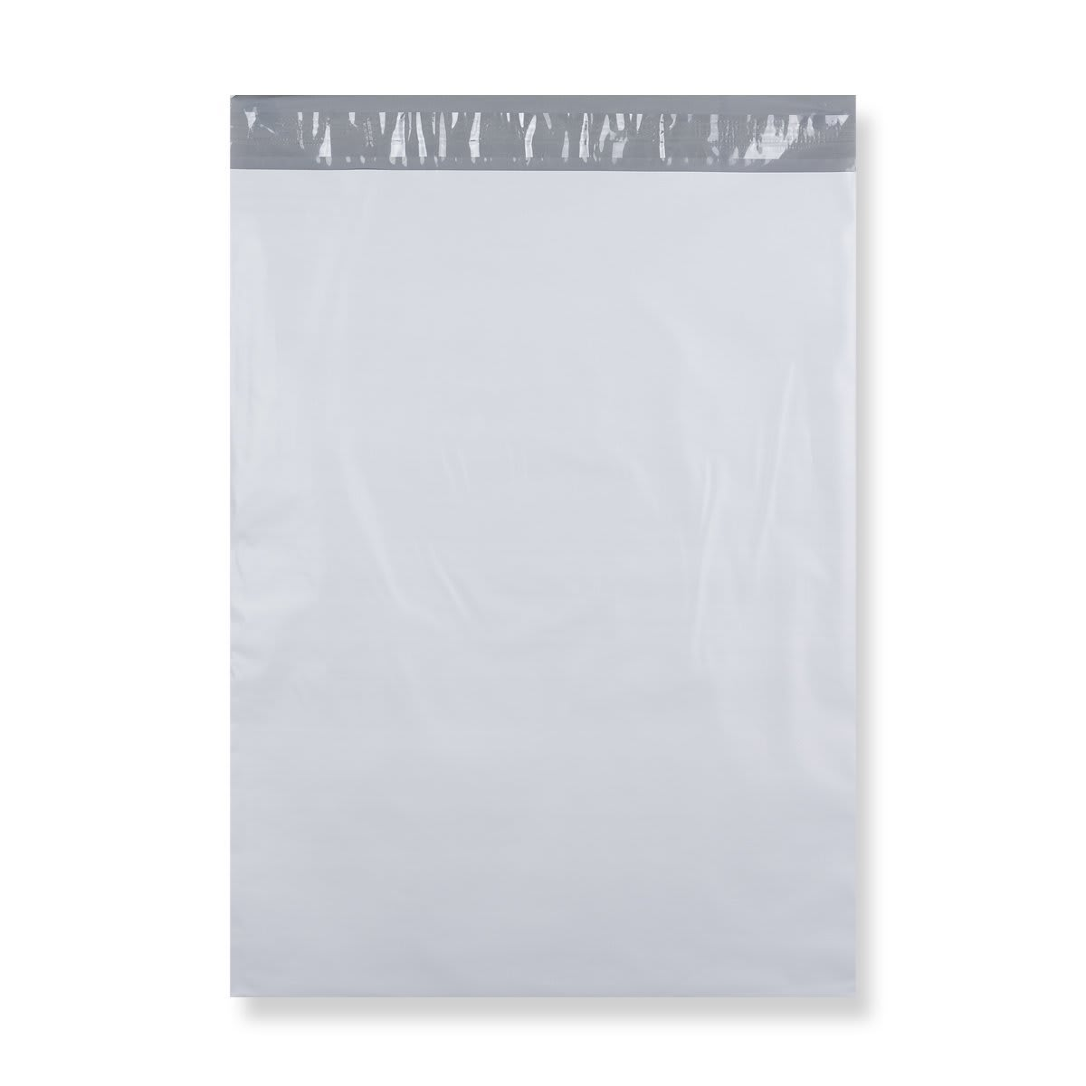 430 x 595 mm White Polythene Mailing Bags