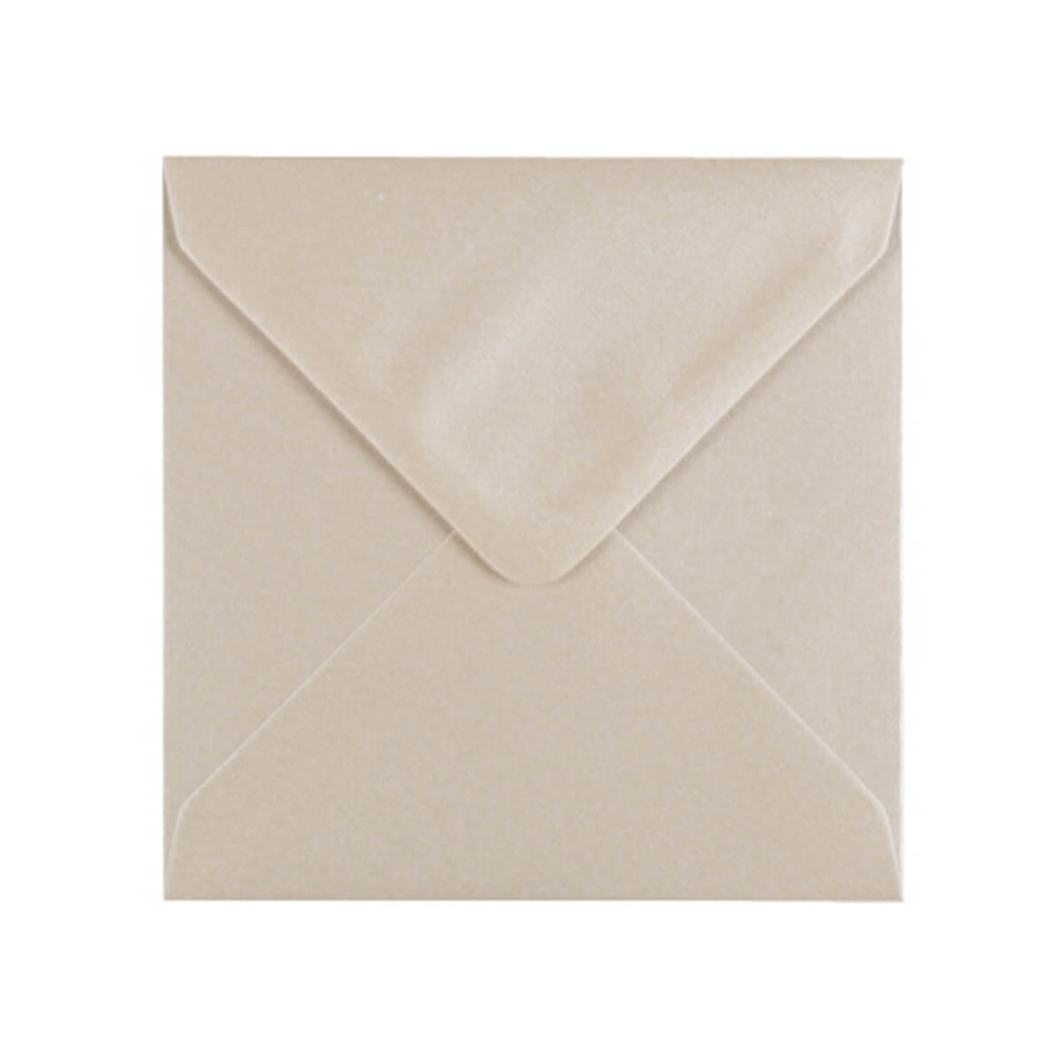PEARLESCENT OYSTER WHITE 100mm SQUARE ENVELOPES