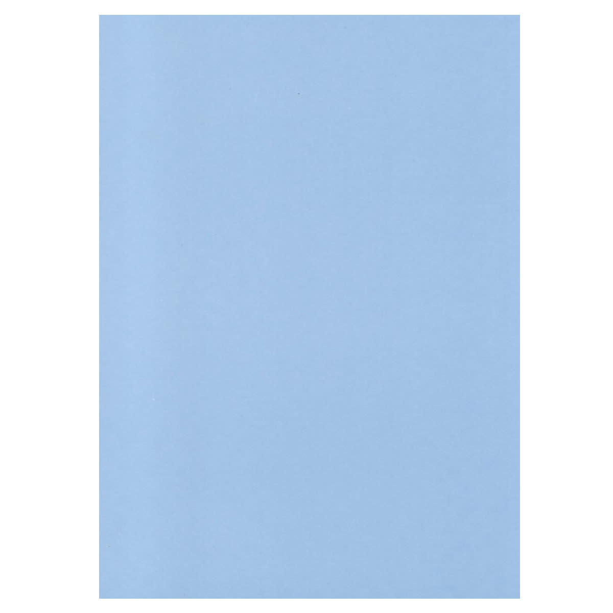 A4 BABY BLUE SINGLE SIDED WASH CARD 300 GSM
