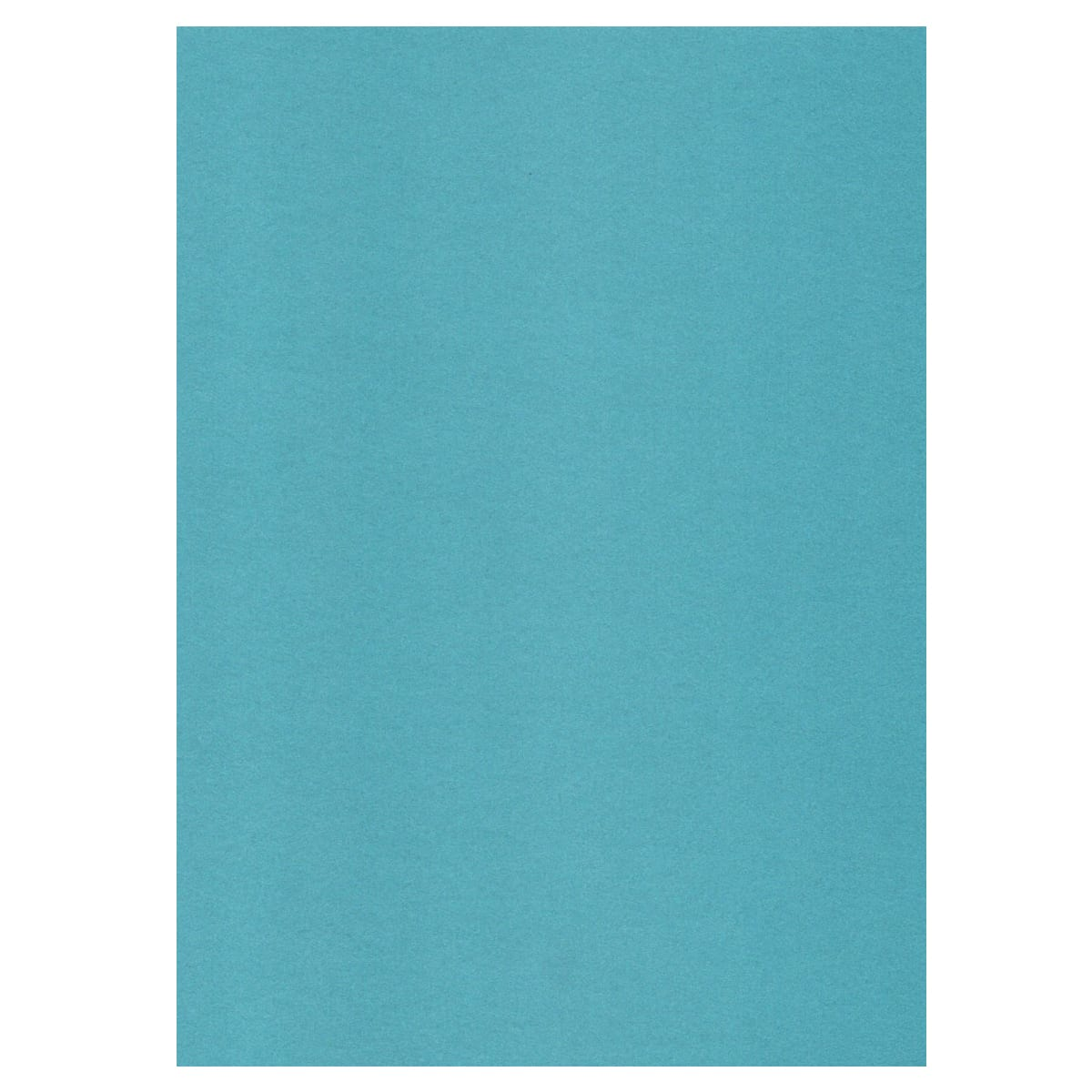 A3 PEARLESCENT TURQUOISE CARD