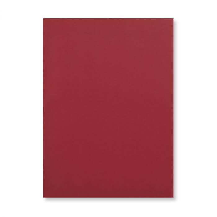 A6 DARK RED CARD 300GSM