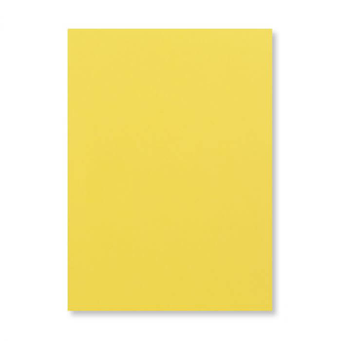 A3 MID YELLOW CARD 300GSM