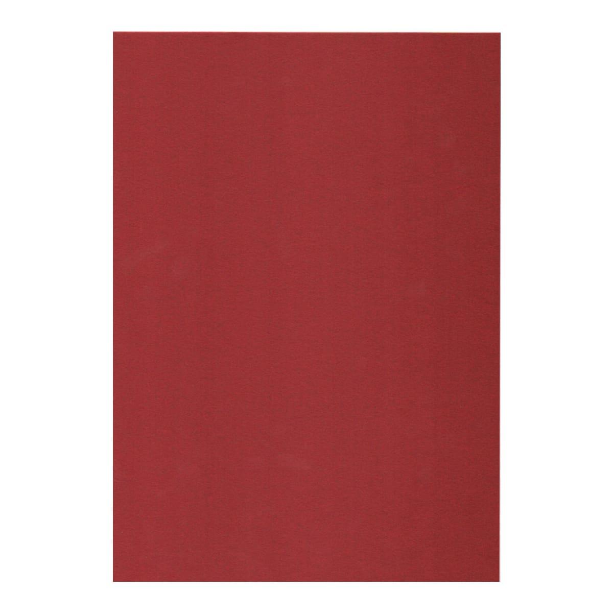 A3 CURIOUS METALLICS RED MAGMA IRIDESCENT CARD (300gsm)