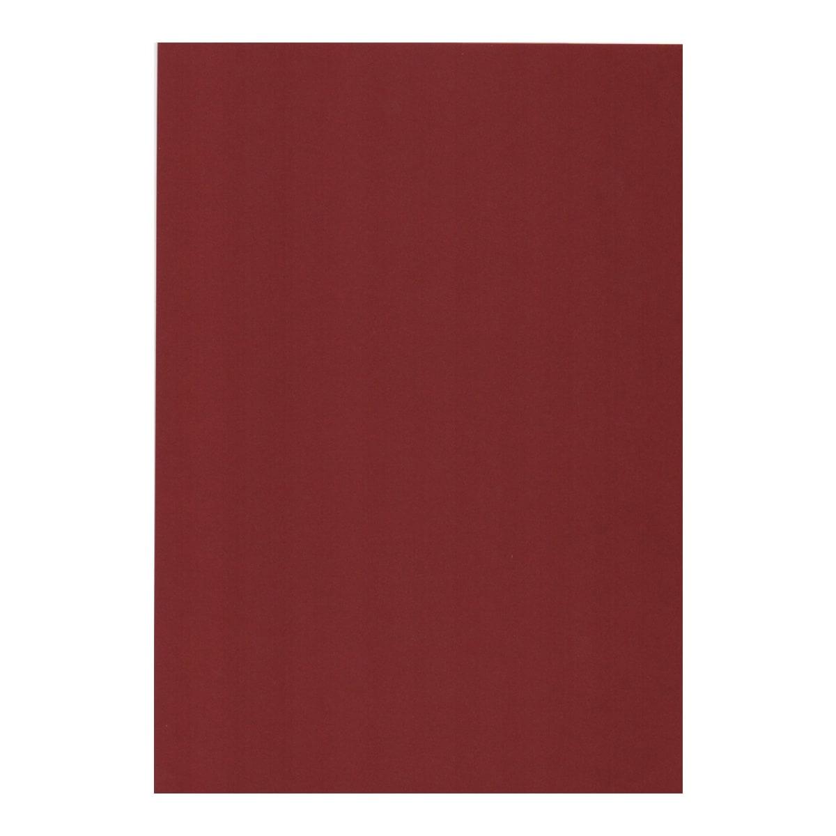 A3 CURIOUS METALLICS RED LACQUER IRIDESCENT CARD (300gsm)