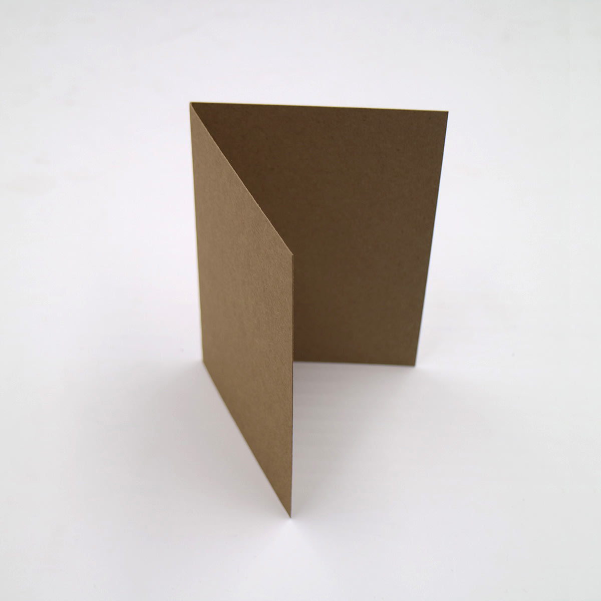 A5 NATURAL KRAFT SINGLE FOLD CARD BLANKS 280GSM