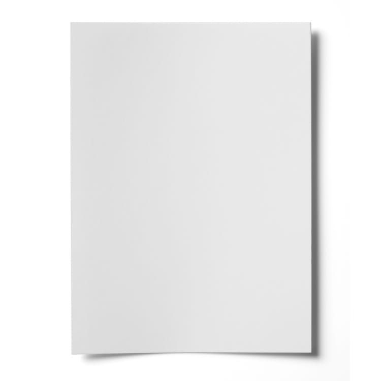 A5 NAUTILUS 100% RECYCLED SMOOTH WHITE CARD (300gsm)