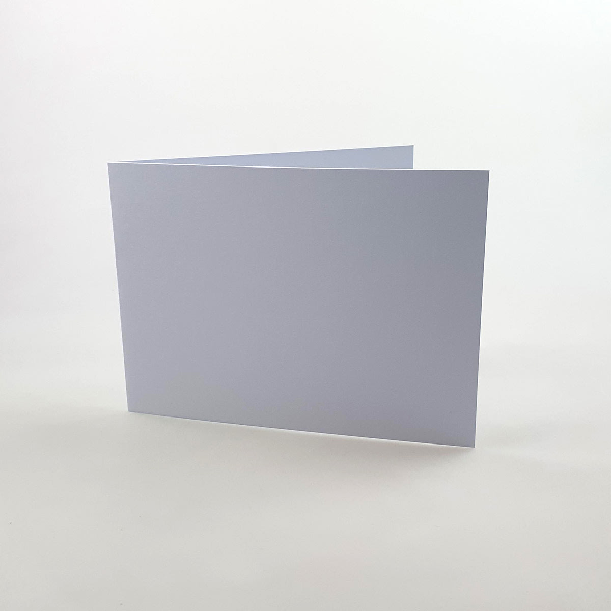 A5 SMOOTH WHITE SINGLE FOLD CARD BLANKS 300GSM (LANDSCAPE)