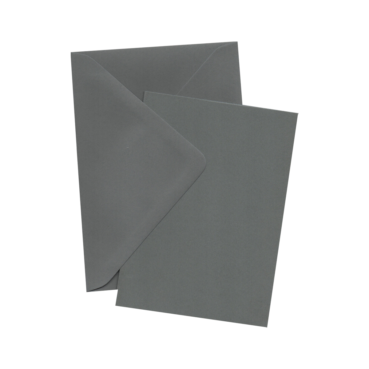A6 WAGTAIL GREY CARD BLANKS WITH ENVELOPES (PACK OF 10)