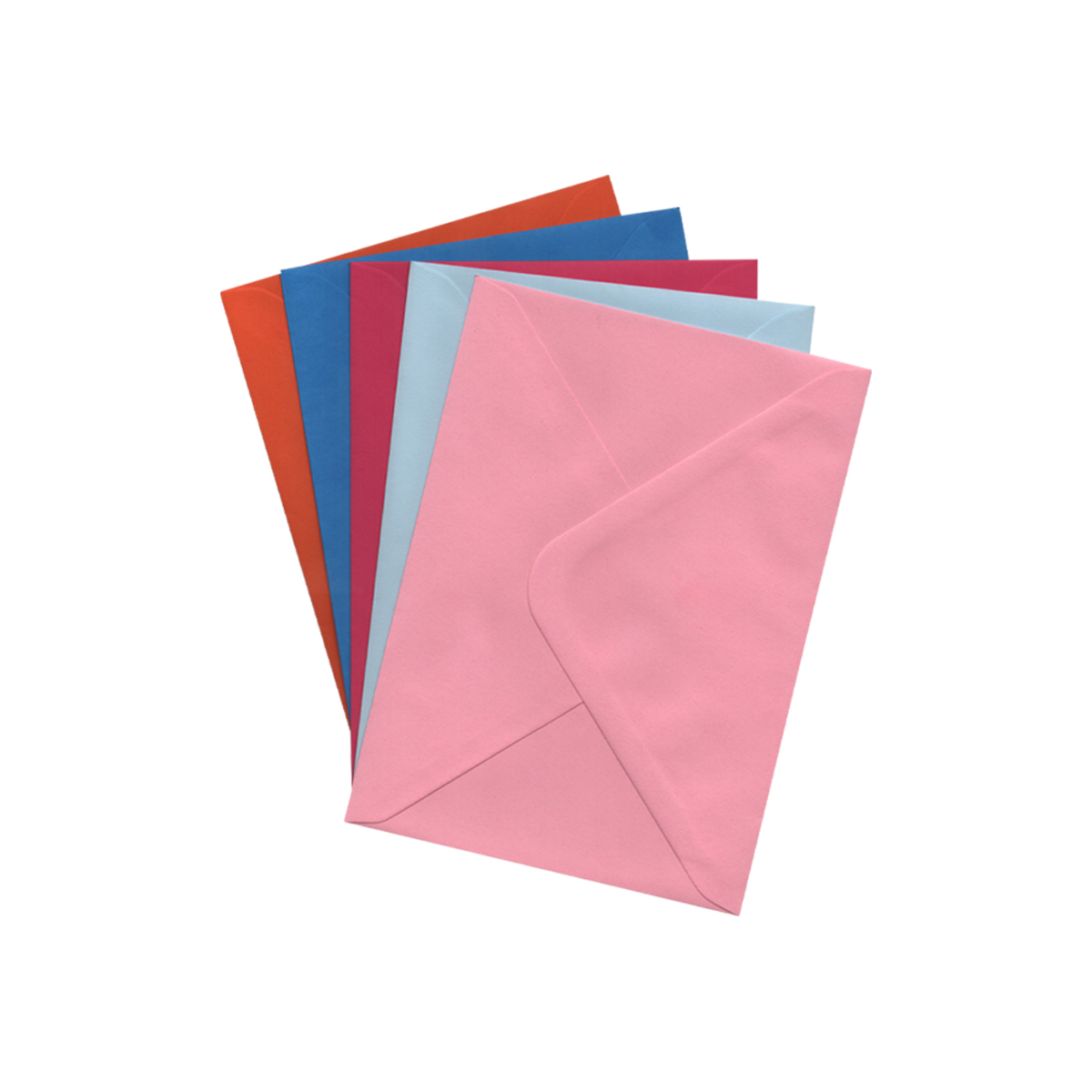 133 x 184mm ASSORTED ENVELOPES (PACK OF 25)