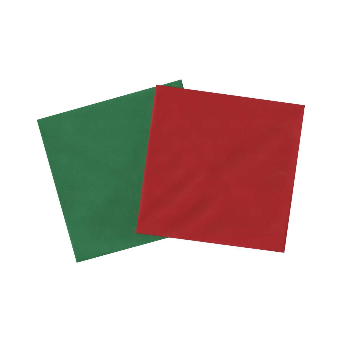 155mm SQUARE CHRISTMAS RED/GREEN ENVELOPES (PACK OF 20)