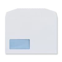 C5 WHITE OPAQUE WINDOW ENVELOPES