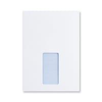 C5 ULTRA WHITE 120GSM POCKET WINDOW ENVELOPES