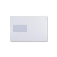 C5 PLUS WHITE WINDOW ENVELOPES