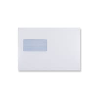 C5 PLUS WHITE WINDOW ENVELOPES 90GSM