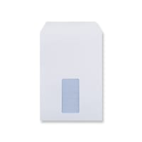 C5 WHITE POCKET WINDOW ENVELOPES