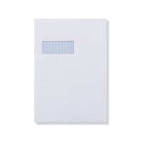 C4 WHITE PEEL AND SEAL LASER COMPATIBLE ENVELOPES