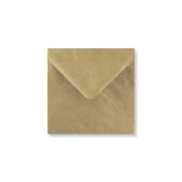 RIBBED KRAFT 116mm SQUARE ENVELOPES