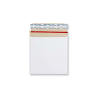 140mm SQUARE WHITE ALL-BOARD ENVELOPES 350GSM