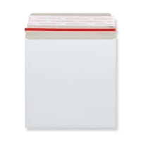 170mm SQUARE WHITE ALL-BOARD ENVELOPES 350GSM