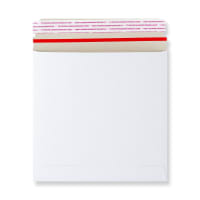 195 x 195mm WHITE ALL BOARD ENVELOPES