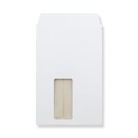 C5 WHITE ALL BOARD WINDOW ENVELOPES