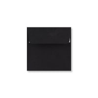 BLACK 100mm SQUARE PEEL & SEAL ENVELOPES