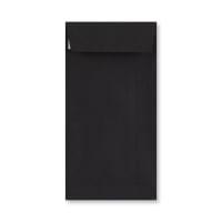 DL BLACK PEEL & SEAL POCKET ENVELOPES (120gsm)