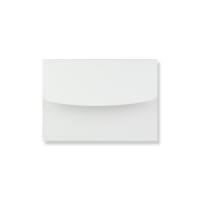 130 x 180mm WHITE LINEN ANNOUNCEMENT ENVELOPES