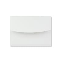 140 x 200mm WHITE LINEN ANNOUNCEMENT ENVELOPES
