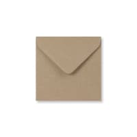 FLECK KRAFT 116mm SQUARE ENVELOPES
