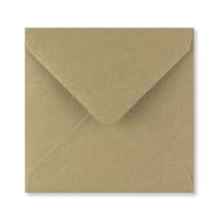 FLECK KRAFT 140mm SQUARE ENVELOPES