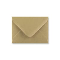 RECYCLED FLECK KRAFT 70 x 100 mm GIFT TAG ENVELOPE (i2)