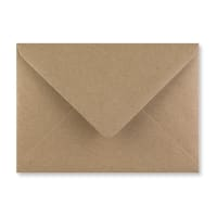 FLECK KRAFT 125 x 175mm ENVELOPES 125GSM