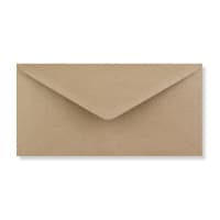 DL FLECK KRAFT ENVELOPES 125GSM