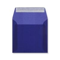 125 x 125MM DARK BLUE TRANSLUCENT ENVELOPES