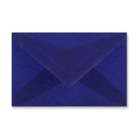 62 x 98MM DARK BLUE TRANSLUCENT ENVELOPES