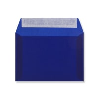 C6 DARK BLUE TRANSLUCENT ENVELOPES