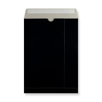 C4 BLACK ALL BOARD ENVELOPES