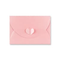 C6 BABY PINK BUTTERFLY ENVELOPES
